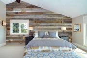 Фото 34 Ламинат на стене в спальне: 80 уютных вариантов отделки для минималистичных интерьеров