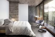 Фото 35 Ламинат на стене в спальне: 80 уютных вариантов отделки для минималистичных интерьеров