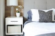 Фото 37 Ламинат на стене в спальне: 80 уютных вариантов отделки для минималистичных интерьеров