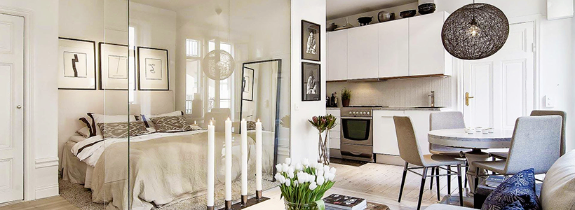 Межкомнатные перегородки из стекла: 80 дизайнерских вариантов зонирования квартиры