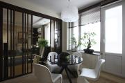 Фото 19 Межкомнатные перегородки из стекла: 80 дизайнерских вариантов зонирования квартиры