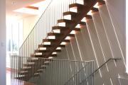 Фото 19 Перила из нержавеющей стали: 80+ универсальных вариантов для современных интерьеров