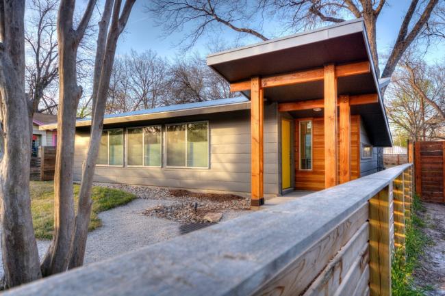 Небольшой современный дом может вместить в себе только маленькие спальни