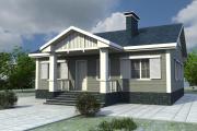 Фото 36 Проект одноэтажного дома с тремя спальнями: преимущества и возможные варианты постройки