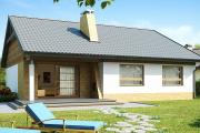 Фото 40 Проект одноэтажного дома с тремя спальнями: преимущества и возможные варианты постройки
