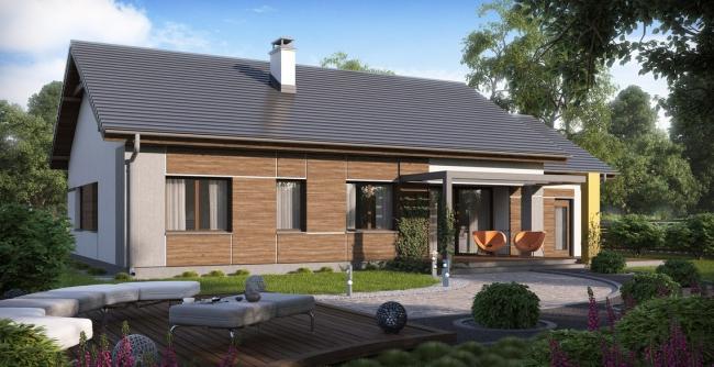 Строительство одноэтажного дома по готовому проекту, это всегда более бюджетный вариант