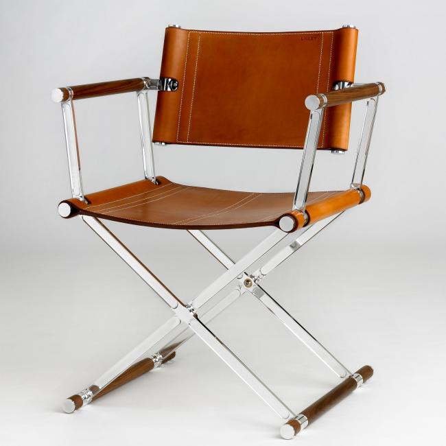Шикарный режиссерский стул от дизайнера D. Linley