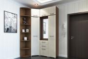 Фото 23 Угловой шкаф в коридор: выбираем оптимальное решение и определяемся с габаритами