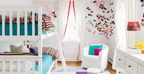 Бабочки на стене: 70 вдохновляющих фотоидей и мастер-класс по декору своими руками фото