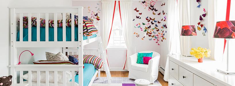 Бабочки на стене: 70 вдохновляющих фотоидей и мастер-класс по декору своими руками