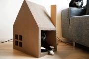 Фото 57 Делаем дом для кошки своими руками: выбор материалов и пошаговая инструкция