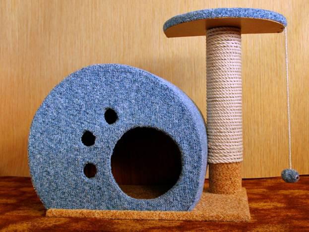 Готовый мини-комплекс для кошки