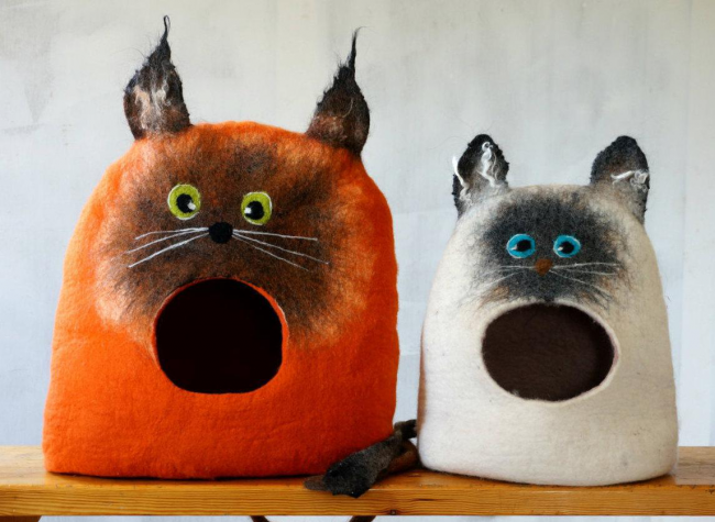 Рисунки кошек своими руками