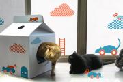 Фото 39 Делаем дом для кошки своими руками: выбор материалов и пошаговая инструкция