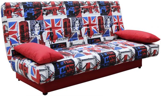 """Простой в использовании и малогабаритный диван """"клик-кляк"""""""