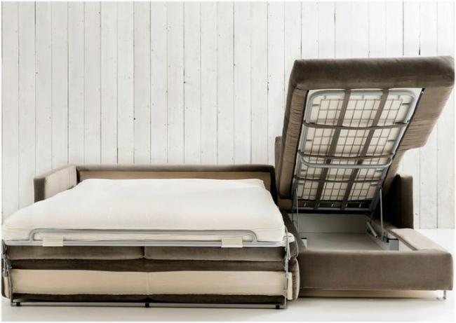 Трехспальный диван с механизмом дельфин