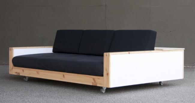Интересное исполнение классического дивана
