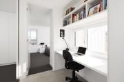 Фото 14 Дизайн двухкомнатной квартиры: лучшие реализации перепланировки и особенности зонирования