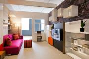 Фото 14 Двухъярусная кровать с диваном: 80+ избранных решений для оптимизации пространства