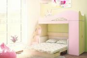 Фото 15 Двухъярусная кровать с диваном: 80+ избранных решений для оптимизации пространства