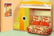 Фото 18 Двухъярусная кровать с диваном: 80+ избранных решений для оптимизации пространства