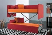 Фото 19 Двухъярусная кровать с диваном: 80+ избранных решений для оптимизации пространства
