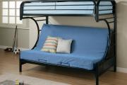 Фото 20 Двухъярусная кровать с диваном: 80+ избранных решений для оптимизации пространства