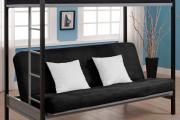 Фото 21 Двухъярусная кровать с диваном: 80+ избранных решений для оптимизации пространства