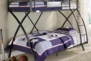 Фото 24 Двухъярусная кровать с диваном: 80+ избранных решений для оптимизации пространства
