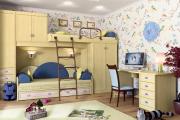 Фото 33 Двухъярусная кровать с диваном: 80+ избранных решений для оптимизации пространства