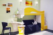 Фото 34 Двухъярусная кровать с диваном: 80+ избранных решений для оптимизации пространства