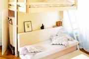 Фото 31 Двухъярусная кровать с диваном: 80+ избранных решений для оптимизации пространства