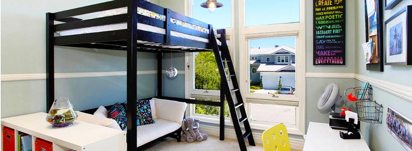 Двухъярусная кровать с диваном: 80+ избранных решений для оптимизации пространства