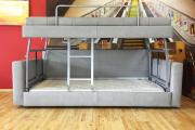 Фото 7 Двухъярусная кровать с диваном: 80+ избранных решений для оптимизации пространства