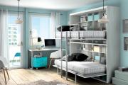 Фото 8 Двухъярусная кровать с диваном: 80+ избранных решений для оптимизации пространства