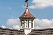 Фото 15 Флюгер на крышу: финальный штрих для стильного экстерьера вашего дома