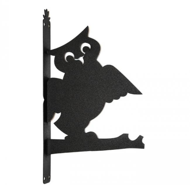 Эскиз флюгера в форме совы