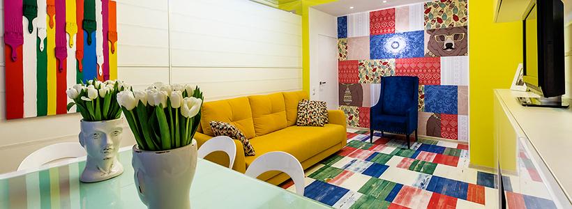 Глянцевая мебель для гостиной: придаем интерьеру акцентность и особый лоск