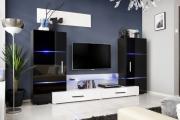Фото 9 Глянцевая мебель для гостиной: придаем интерьеру акцентность и особый лоск