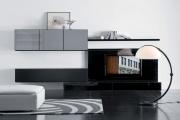 Фото 10 Глянцевая мебель для гостиной: придаем интерьеру акцентность и особый лоск