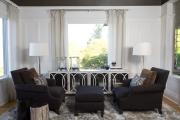 Фото 11 Глянцевая мебель для гостиной: придаем интерьеру акцентность и особый лоск