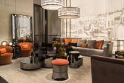 Фото 13 Глянцевая мебель для гостиной: придаем интерьеру акцентность и особый лоск