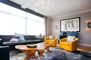 Фото 14 Глянцевая мебель для гостиной: придаем интерьеру акцентность и особый лоск