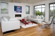 Фото 18 Глянцевая мебель для гостиной: придаем интерьеру акцентность и особый лоск