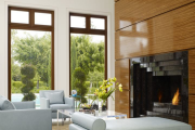 Фото 19 Глянцевая мебель для гостиной: придаем интерьеру акцентность и особый лоск