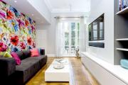Фото 25 Глянцевая мебель для гостиной: придаем интерьеру акцентность и особый лоск