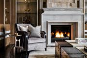 Фото 26 Глянцевая мебель для гостиной: придаем интерьеру акцентность и особый лоск