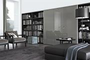 Фото 29 Глянцевая мебель для гостиной: придаем интерьеру акцентность и особый лоск