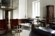 Фото 31 Глянцевая мебель для гостиной: придаем интерьеру акцентность и особый лоск