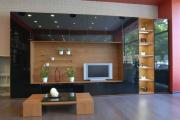 Фото 3 Глянцевая мебель для гостиной: придаем интерьеру акцентность и особый лоск